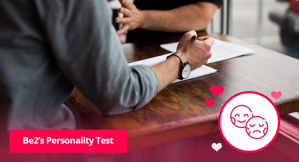 Be2's Personality Test
