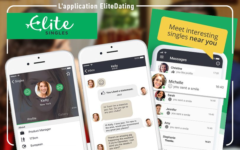 L'application EliteDating