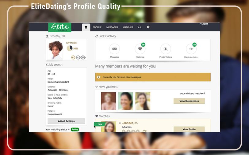EliteDating Profile